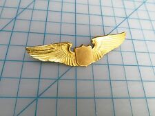 WW2 US ARMY  AIR FORCE Pilot Wing  Home Front full size  3 inch sweetheart