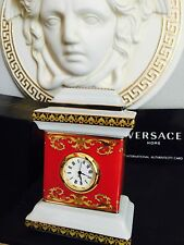 VERSACE MEDUSA CLOCK WATCH ROSENTHAL DESK OFFICE CHRISTMAS GIFT RETAIL $350