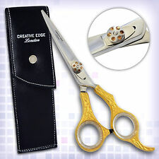 Brand New Professional Hairdressing Scissors Barber Shears Hair Beauty GOLD 6""
