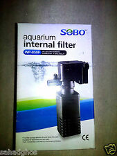 Newly Imported SOBO WP 850F Aquarium Fish Tank Power Filter 4 W 400 L/H