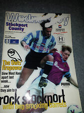 Sheffield Wednesday v Stockport County, 1998-99, FA Cup