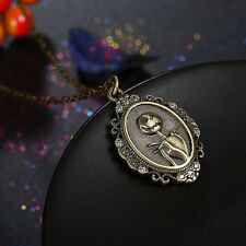 THE NIGHTMARE BEFORE CHRISTMAS Jack Vintage Pendant Necklace Jewelry Cool Gift
