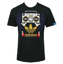 adidas Trefoil Boom Box Boy T-Shirt Superstar Oldskool Kinder schwarz [152/158]
