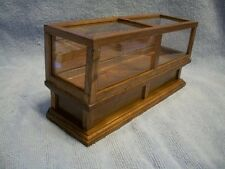 Concord Miniatures Doll House Furniture Glass Display Case Cabinet 2663 NIB