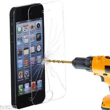 High Quality Premium Real Tempered Glass Film Screen Protector for iPhone 5S 5