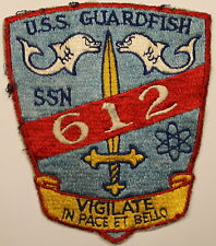 USS Guardfish SSN-612 Nuclear Submarine Navy Patch / Sub