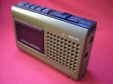 Antigua radio PHILIPS n2207 vintage retro tape recorder Cassette
