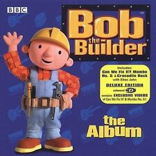 Elton John BOB THE BUILDER The Album OOP CD ~ Enhanced with bonus videos MINT!