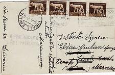 QUARTINA DA 5 CENTESIMI 1933 ESTATE LIVORNESE LIVORNO MONUMENTO 4 MORI  8-47