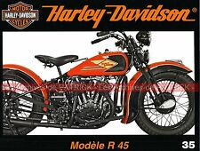 HARLEY DAVIDSON 750 R 45 R45 D45 1932 ; Myrthe Beach ; Customs Japonais MOTO HD