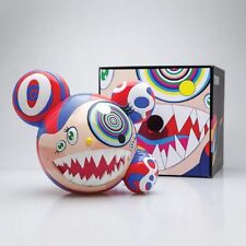 Murakami x ComplexCon Mr DOB Blue Red Figure By BAIT x SWITCH Collectibles 2016