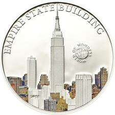 Palau 2013 $5 World of Wonders VII Empire State Building 20g Silver Proof Coin
