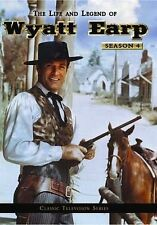 HUGH O'BRIAN LIFE AND LEGEND OF WYATT EARP TV SEASON 4 5 DVD FREE 1ST CLS S&H