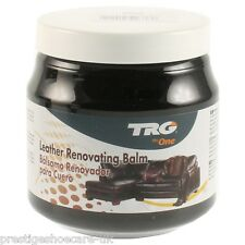 TRG Leather Restoration Cream/MERCEDES AUDI BMW Leather Car Seats Cream BLACK