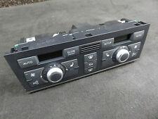 Audi A6 4F Klimabedienteil schwarz Klimatronic PLUS 4F1820043AG 4F0910043A SHZ