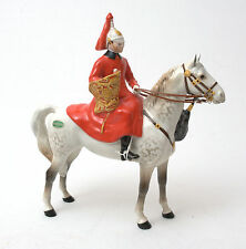 Beswick Horses - Mounted Lifeguard With Trumpet No.1624 1959-1977