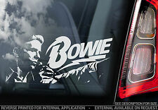 David Bowie - Car Window Sticker - Glam Rock Music Sign Ziggy Stardust - TYP2