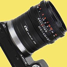 Adaptador del objetivo m42 en Sony e Nex Alpha a6000 a5100 a5000 a3500 a3000 a7r a7