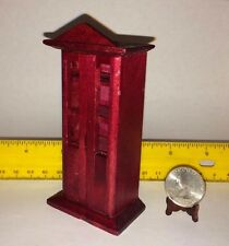 MINIATURE 1:16 VINTAGE CABINET DOLLHOUSE FURNITURE