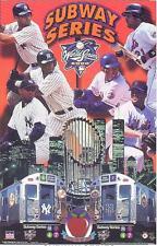 2000 World Series Subway Series Original Starline Poster OOP NY Yankees &  Mets