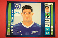 PANINI CHAMPIONS LEAGUE 2013/14 N. 517 HULK ZENIT BLACK BACK MINT!