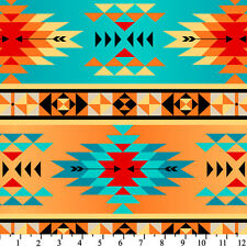 Tribal Anti-Pill Fleece Fabric By The Yard