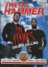 METAL HAMMER 2 2014 In Flames Slash Dream Theater Accept Overkill Sanctuary