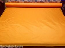 5 METRES WATERPROOF TANGERINE ORANGE FABRIC MATERIAL TENT BAG COVER FREE POST