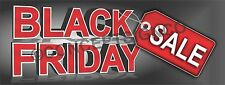 2'X5' BLACK FRIDAY SALE BANNER Outdoor Sign Retail Store Sales Save Thanksgiving