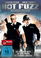HOT FUZZ (Simon Pegg, Nick Frost, Jim Broadbent) NEU+OVP