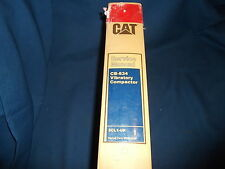 CAT CATERPILLAR CB-634 COMPACTOR SERVICE SHOP REPAIR BOOK MANUAL S/N 5CL1-UPO