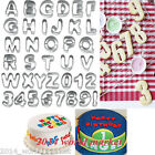 36p A-Z 0-9 Alphabet+Number Letter Cake Cookies Decorating Cutter Sugarcraft #T