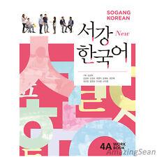 Sogang Korean 4A Workbook With CD Korean Language Book Conversation BO45