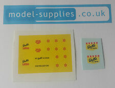 Corgi 447 / 474 Walls Ice Cream Van Reproduction Full Set of Decals