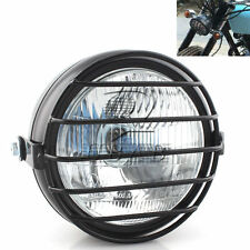 Vintage Motorcycle Front Headlight w/ Metal Cover for GN125 Cafe Racer Bobber
