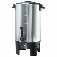 Cem Global Ps77931 30 Cup Coffee Urn, Stainless Steel