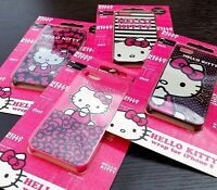 For iPhone SE 5S Hard Back Protector Skin Case Cover Sanrio PINK HELLO KITTY