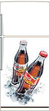 Sticker frigo électroménager déco cuisine Coca Cola 60x90cm Réf 1852