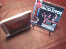 ROLLING STONES 1ST JAPAN REPLICA TO ORIGINAL LP OBI RARE CD W/STICKERS + BONUS