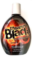 Insanely Black Hot Tingle Tanning Bed Lotion w/ Dark Bronzer By Millennium Tan