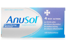 Anusol suppositories Soothing Relief 4 Way Action With Hydrocortisone - 12