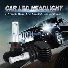 2x H7 180W 18000LM Philips LED Headlight Kit H/Low Beam Bulbs Fog With Driver