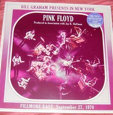 PINK FLOYD Fillmore East Sept 27 1970 LP New York USA First Show LTD 400 Copies!