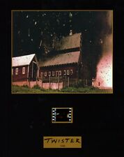 """TWISTER 1996 Disaster Drama Movie 8-1/2""""x11"""" SENITYPE FILM CELL & GRAPHIC PHOTO"""