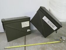 BIG AMMO CANS - 2 QTY, 20mm Belted Can Set; M548 Model Ammo Can for BIG TOYS