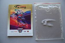 VINTAGE 1998 NASCAR CALIFORNIA 500 BY NAPA RACE PROGRAM & MORE