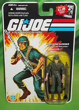 G I GI JOE 25TH ANNIVERSARY COBRA MACHINE GUNNER ROCK N ROLL FIGURE MOC