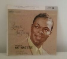 NAT KING COLE: Love Is The Thing 45 w/ 3 added songs 1957 Used