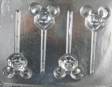 Mickey Mouse Head Lollipop Candy Mold #100 - NEW
