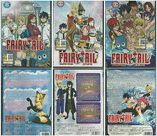 Anime DVD Fairy Tail 1 - 6 OVA Complete Japanese Animation New  Box Set